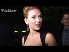 Scarlett Johansson at Dolce & Gabanna Gold Event Spring 2012 Milan Fashion Week | FashionTV - FTV