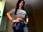 Transsexual woman in tight jeans--Natalia Rose-Subscribe