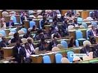 Iranian President Mahmoud Ahmadinejad Final UN Speech: Denounces 'uncivilized Zionists'