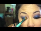 Going Out Blue Smoky Eye Tutorial