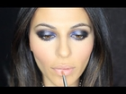 BLUE SMOKY EYE WITH THE PARIS PALETTE