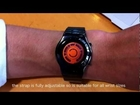 Kisai Rogue SR2 Orange Hybrid LCD LED Watch Design From Tokyoflash Japan