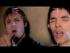 Bradley James & Colin Morgan performing 'You're the Voice' /