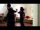 Norm & Hisako and Kirk & Jan Dancing West Coast Swing -