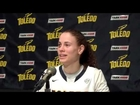 Naama Shafir Post Game Comments vs  Northern Illinois