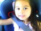 Lil sis in the car years ago =]