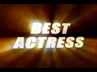 FREE FOOTAGE - 'Best Actress' Title Graphic