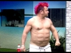 Celebrity Big Brother - Darryn Lyons Shows off Fake Six Pack ABS  Sixpackshortcuts Fail Commentary