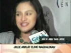 SC - Julie Anne on JOS Kissing Scene [22Jul2012]