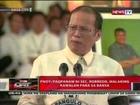 QRT: PNoy: Pagpanaw ni Sec. Robredo, malaking kawalan para sa bansa