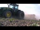 Siew Zboża 2012/Sowing Grain 2012/John Deere 7830 Vaderstad Rapid 400S - Spudłów