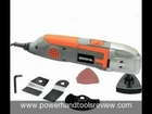 Terratek TPMT319C Oscillating Multi-Function Power Tool 9-Piece Kit Review