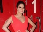 Veena Maliks Bold Poster for SUPERMODEL