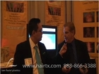 LASER COMB HAIR GROWTH:  DR. LAM VISITS THE BOOTH AT ISHRS