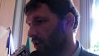 Rugby - Lionel Nallet réagit après avoir reçu la médaille de la ville de Bourg-en-Bresse