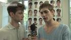 Theo Hall @ Cerruti Backstage - Paris Men Spring 2012 | FTV