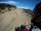 Méchante blessure en motocross