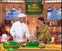 Abhiruchi - Recipes - Senaga Pappu Rice, Tomato Appalu & Ragi Sankati Menti Pulusu - 02