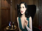 Dita Von Teese: Cowell 's a great guy