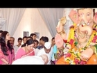 Shilpa Shetty @ Andhericha Raja Darshan 2012