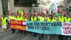 Thousands protest Spain, Portugal austerity cuts