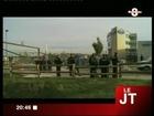 Les gendarmes expulsent les gens du voyage à Neydens