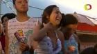 Beldade exibe decote ousado e faz a alegria dos foliões Carnaval 2013