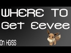 Where to get Eevee on pokemon SS/HG