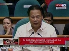 QRT: CJ Corona, muling humarap sa impeachment court